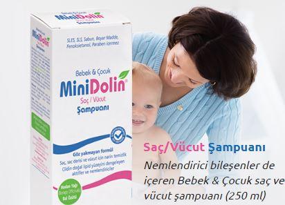 Minidolin ile bebeğinizin saçları gürleşsin!